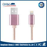 Cavo metallico del USB per il trasferimento di dati e di carico per i telefoni