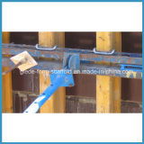 Molde fácil do feixe da parede da instalação para muros de cimento