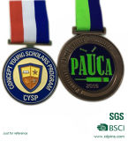 Kundenspezifische Singapur-Marathon-Antike-Nickel-Preis-Medaille mit Abzuglinie