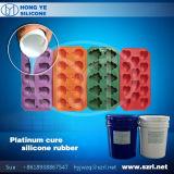 Platina dat het Rubber van het Silicone voor het Maken van de Vorm geneest