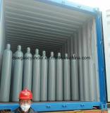 Gás do hélio da pureza elevada que enche-se no cilindro de gás do hélio 10L