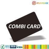 MIFARE 고전적인 1K+ MONZAR6 RFID 결합 이중 주파수 카드