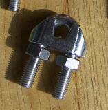 Grampos de corda do fio do aço inoxidável