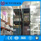 Crémaillère de palette de larme de mémoire d'entrepôt de Sunnyrack pour le marché américain