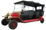 8 coches clásicos eléctricos retros de visita turístico de excursión reales del turista de Seater