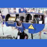 1t Brimaのホックが付いている熱い販売の日本タイプ電気チェーン起重機