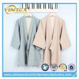 熱い販売法の鉱泉の使用の着物カラーNightwearのパジャマの浴衣セット