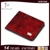 Конструкции цвета оптовой продажи фабрики Китая бумажники кожи тавра уникально изготовленный на заказ