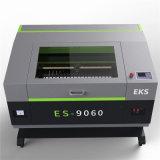 Cortadora de talla de acrílico del grabado del CO2 Es-9060 del laser del cuero de escritorio de la tela