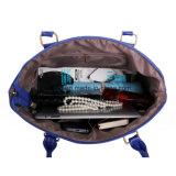 Bolsa de couro 5-PCS do saco da mensagem do ombro da bolsa do plutônio do saco das mulheres