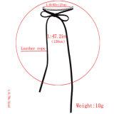 Ювелирные изделия ожерелья чокеровщика ворота диаманта PU способа кожаный