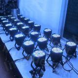 PAR 54X3W RGBW etapa luz PAR64 DMX LED puede