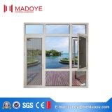 Madoye Nuevo diseño en polvo recubierto no térmico rompe ventana de aluminio del marco