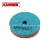 3 tipo de la arena del tampón para pulir 2000 de la esponja de la pulgada - azul 2