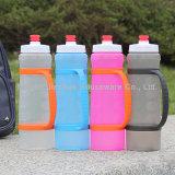Бутылка воды выжимкы 20 спортов бутылки питья Oz пластичная