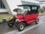 Automobili elettriche del motore a corrente alternata del carrello Handmade puro superiore dell'albergo di lusso retro