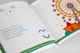 Serviço de impressão duro do livro infantil da tampa