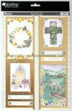 Primeros únicos del arte de papel de la hoja para la decoración
