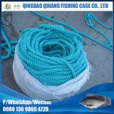 Gaiola de flutuação dos peixes da gaiola da pesca do HDPE em do alto mar para o mar Aquaculature