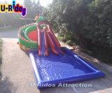 Het openlucht Opblaasbare Park van het Water met Dia