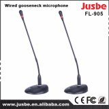 Tisch FL-905 Microphoen Konferenzsaalschreibtisch verdrahtetes Gooseneck-Mikrofon