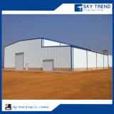 Edificios prefabricados agradecidos del taller del marco de la estructura de acero
