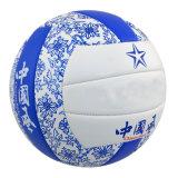 Voleibol de costura de la máquina de la PU del PVC