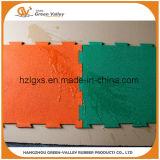 Couvre-tapis en caoutchouc insonorisants de puzzle parquetant les tuiles en caoutchouc pour la forme physique