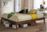 현대 가구 단단한 나무로 되는 침대