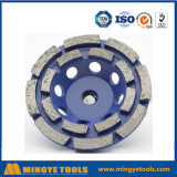 Double Row Diamond Cup Wheel