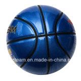 Baloncesto brillante brillante de encargo azul superficial parejo