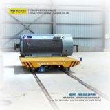 Véhicule plat de transport de longeron conduit par batterie