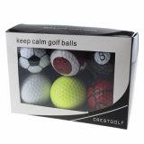 ゴルフ・ボールの一定のスポーツのゴルフ・ボールセット