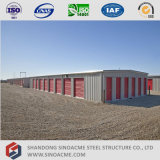 Светлая структура здания хранения стальной рамки