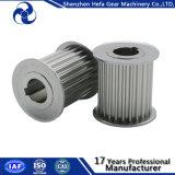 Polea impulsora de aluminio Mxl XL L engranaje de la banda transportadora de la rueda