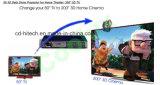 DLP-Ligação 3D 1080P da bateria do Li-íon do projetor 15000mAh