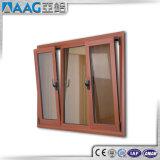 Doppia finestra di alluminio Bassa-e di vetro di alluminio di girata e di inclinazione