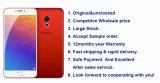 2016 PRO 6 Deca téléphones mobiles androïdes déverrouillés initiaux du faisceau 21MP 4G Lte de Maizu