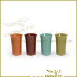 Flowerpot da porcelana de quatro cores