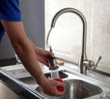 L'ottone solido spazzolato del nichel estrae il rubinetto del dispersore di cucina dello spruzzatore