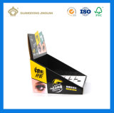 工場カスタム印刷の反対の包装のディスプレイ・ケース(段ボール紙の陳列だな)