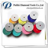 물 가는 공구 다이아몬드 유연한 닦는 패드에 젖거나 건조한 사용