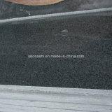 Polished Impala Китая Nero гранита, чернота сезама, плитки G654 для шага/рослости