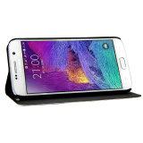 Caso de couro do iPhone 7 do carrinho da caixa do telefone móvel dos acessórios