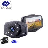 De dubbele MiniCamera van de Functie van WiFi van de Camera van de Auto DVR van de Lens