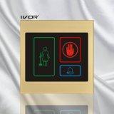 아크릴 개략 프레임 (SK dB100S3)에 있는 호텔 현관의 벨 시스템 옥외 위원회