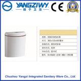 쭈그리기 팬 (YZ1095)를 위한 잘 고정된 PP 화장실 물통