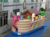 ノアの箱舟の販売のための弾力がある城の膨脹可能なおもちゃの膨脹可能な警備員
