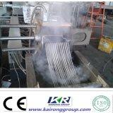 Estirador de tornillo gemelo plástico Co-Giratorio del LDPE del PE del PVC PP del tubo de la comprensión-expansión del solo tornillo