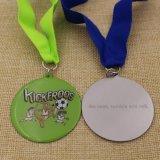 De roestvrije Medaille van de Jonge geitjes van de Druk van de Koepel van het Metaal van het Ijzer Goedkoopste met Epoxy